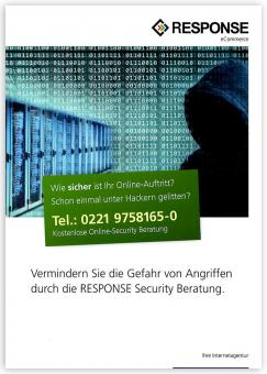 "Flyer ""Onlineshop Sicherheit"""